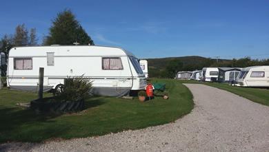 caravan and camping park view 3