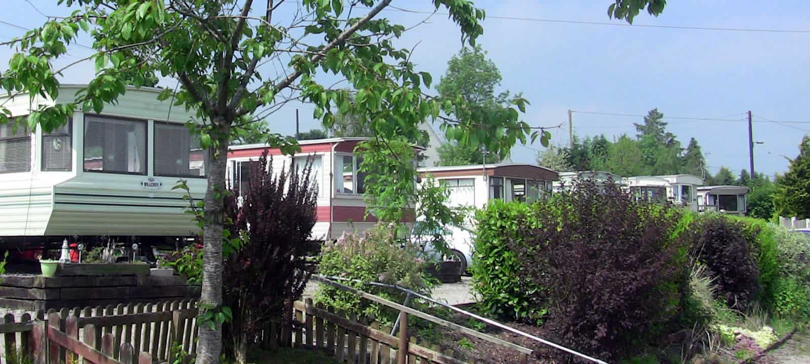 static caravan park in north wales